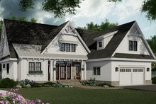Farmhouse Exterior - Front Elevation Plan #51-1151
