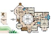 Mediterranean Style House Plan - 4 Beds 5 Baths 5079 Sq/Ft Plan #27-385 Floor Plan - Upper Floor Plan
