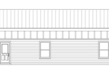 Contemporary Exterior - Other Elevation Plan #932-109