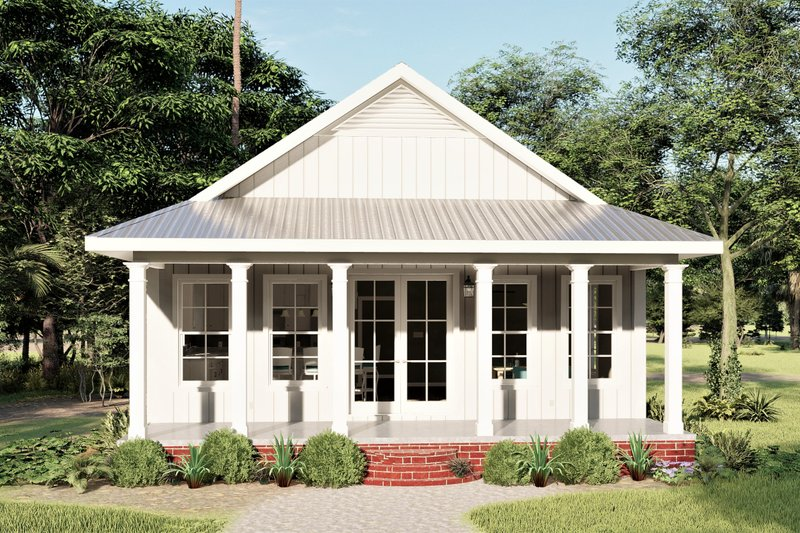 House Plan Design - Traditional Exterior - Front Elevation Plan #44-245