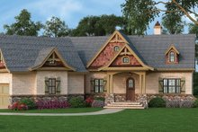 House Plan Design - Craftsman Exterior - Front Elevation Plan #119-422