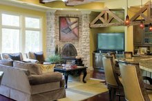 Home Plan - Traditional Interior - Family Room Plan #17-2757