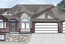 House Plan Design - Traditional Exterior - Front Elevation Plan #945-15