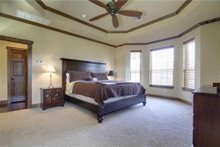 Dream House Plan - Traditional Interior - Master Bedroom Plan #80-173