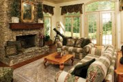 European Style House Plan - 5 Beds 4.5 Baths 5158 Sq/Ft Plan #929-479 Interior - Family Room