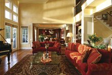 Dream House Plan - Craftsman Interior - Entry Plan #132-485