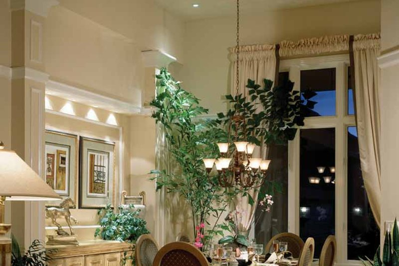 Mediterranean Interior - Dining Room Plan #930-37 - Houseplans.com