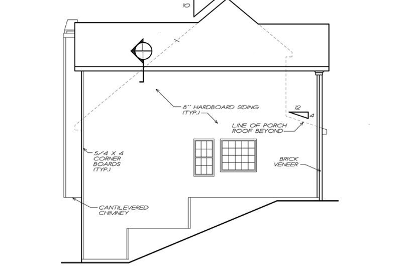 Colonial Exterior - Other Elevation Plan #927-753 - Houseplans.com