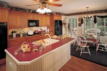 Country Interior - Kitchen Plan #929-242