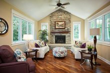 House Plan Design - Craftsman Interior - Family Room Plan #928-295