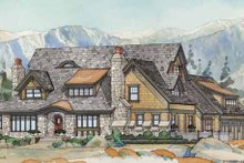 Dream House Plan - Craftsman Exterior - Front Elevation Plan #928-237