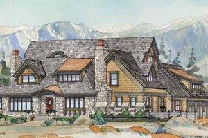 Craftsman Exterior - Front Elevation Plan #928-237