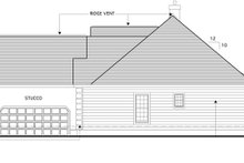 Architectural House Design - Traditional Exterior - Other Elevation Plan #1053-22