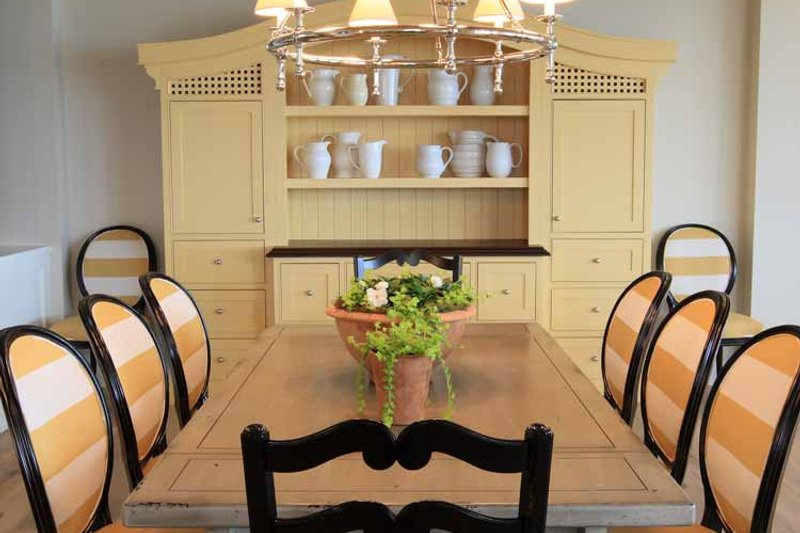 Craftsman Interior - Dining Room Plan #928-175 - Houseplans.com