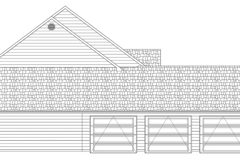 Colonial Exterior - Other Elevation Plan #1060-1 - Houseplans.com