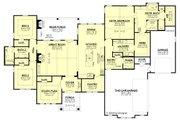 Farmhouse Style House Plan - 3 Beds 2.5 Baths 2920 Sq/Ft Plan #430-185 Floor Plan - Main Floor Plan