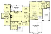Farmhouse Style House Plan - 3 Beds 2.5 Baths 2920 Sq/Ft Plan #430-185 Floor Plan - Main Floor