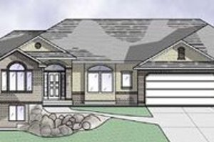 Traditional Exterior - Front Elevation Plan #5-124