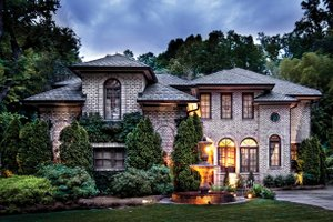 Home Plan Design - Mediterranean Exterior - Front Elevation Plan #930-70