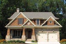 Dream House Plan - Craftsman Exterior - Front Elevation Plan #54-350
