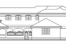Dream House Plan - Mediterranean Exterior - Other Elevation Plan #124-234