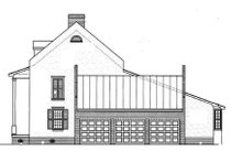 House Plan Design - Southern Exterior - Other Elevation Plan #45-157