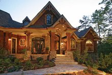 House Design - Craftsman Exterior - Front Elevation Plan #54-245