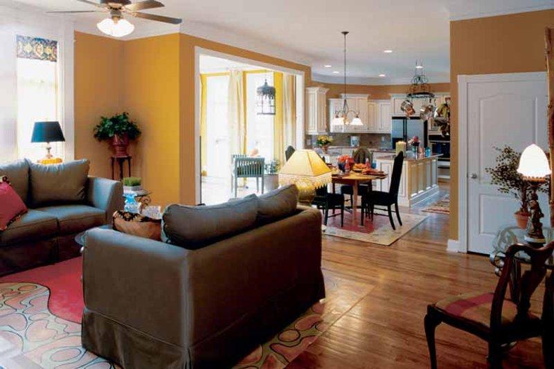 Classical Interior - Family Room Plan #927-60 - Houseplans.com