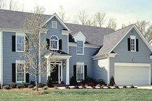 Home Plan - Country Exterior - Front Elevation Plan #453-489
