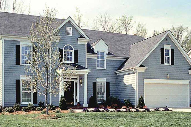 Country Exterior - Front Elevation Plan #453-489 - Houseplans.com