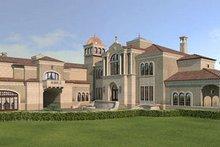 Dream House Plan - European Exterior - Front Elevation Plan #119-303
