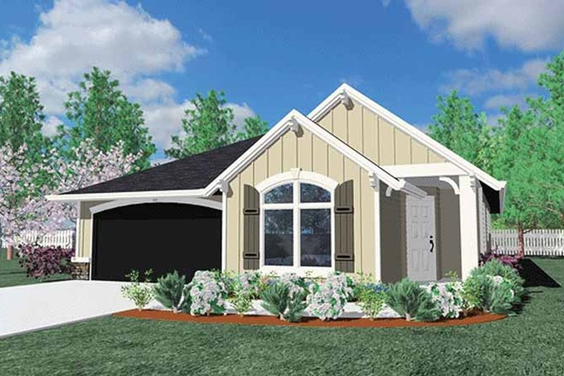 Traditional Exterior - Front Elevation Plan #509-256