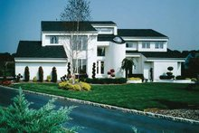 Dream House Plan - Contemporary Exterior - Front Elevation Plan #314-228