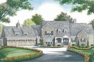 House Design - Craftsman Exterior - Front Elevation Plan #453-455