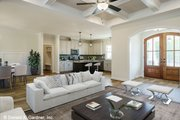 Craftsman Style House Plan - 3 Beds 2 Baths 1747 Sq/Ft Plan #929-1038 Interior - Other