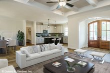 House Plan Design - Craftsman Interior - Other Plan #929-1038