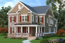 Dream House Plan - Traditional Exterior - Front Elevation Plan #419-316