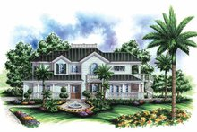 House Plan Design - Southern Exterior - Front Elevation Plan #1017-53