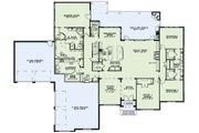 European Style House Plan - 3 Beds 3.5 Baths 4076 Sq/Ft Plan #17-2491