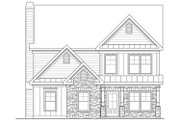 Traditional Style House Plan - 4 Beds 2.5 Baths 2260 Sq/Ft Plan #419-313