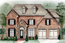 House Plan Design - Traditional Exterior - Front Elevation Plan #54-139