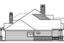 Dream House Plan - Craftsman Exterior - Other Elevation Plan #124-778