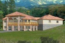Dream House Plan - Modern Exterior - Front Elevation Plan #117-425