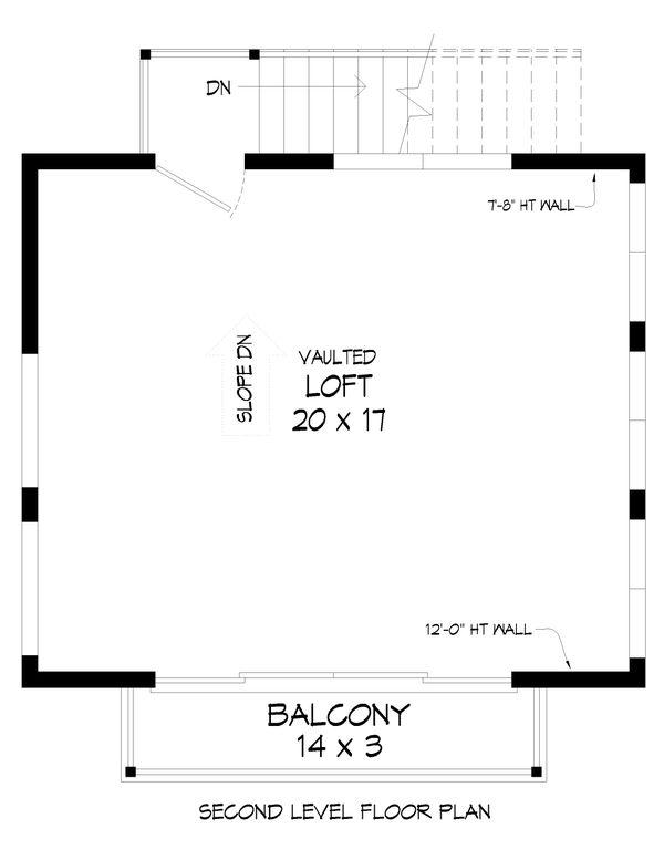 Dream House Plan - Modern Floor Plan - Upper Floor Plan #932-390