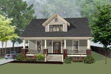 Dream House Plan - Craftsman Exterior - Front Elevation Plan #79-234