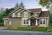 Craftsman Exterior - Front Elevation Plan #132-304