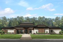 House Plan Design - Prairie Exterior - Front Elevation Plan #1058-150