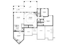 Ranch Floor Plan - Lower Floor Plan Plan #437-71