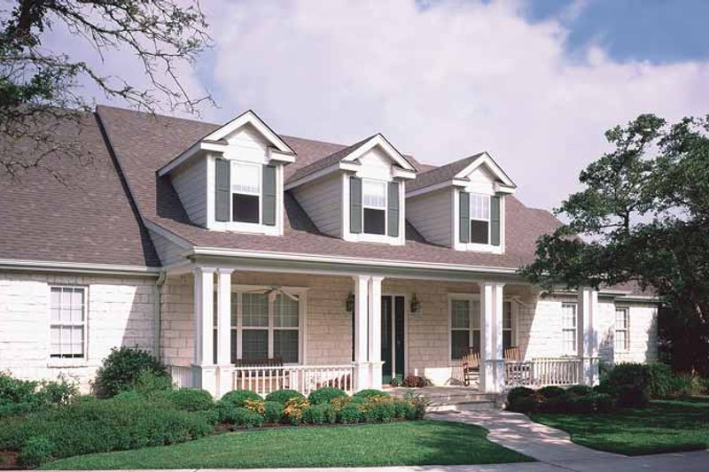 Home Plan - Country Exterior - Front Elevation Plan #472-305