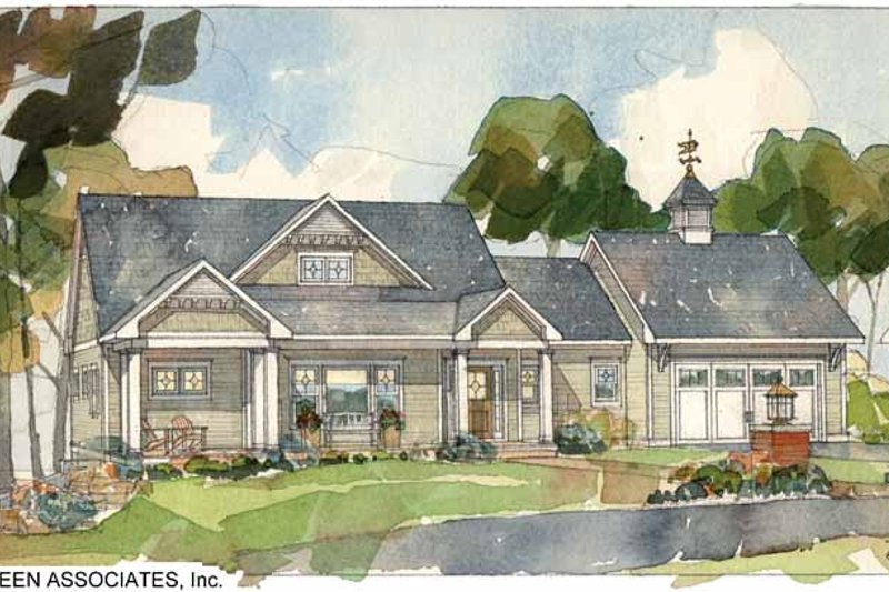 Craftsman Exterior - Front Elevation Plan #928-83